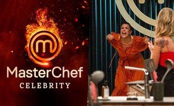 MasterChef: el grito peronista de Andrea Rincón que se hizo viral   Masterchef celebrity