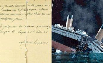 El misterioso mensaje de una pasajera del Titanic que impactó a los expertos | Titanic