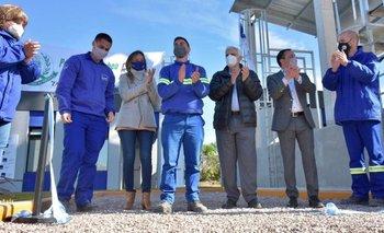 Varela: Galmarini y Watson inauguraron instalaciones del Rebombeo El Cruce | Aysa