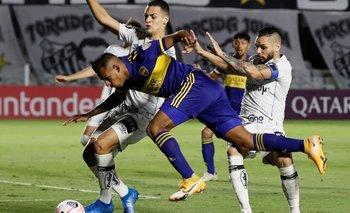 Copa Libertadores: Boca no pudo en Brasil y complicó su clasificación | Copa libertadores