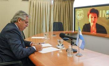 Alberto Fernández se reunirá mañana con el FMI  | Deuda con el fmi