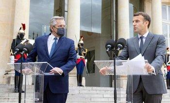 Alberto consiguió el apoyo de Francia para la negociación con el FMI | Deuda con el fmi