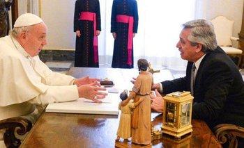 Alberto Fernández se reunió con el Papa Francisco en el Vaticano | Alberto con francisco