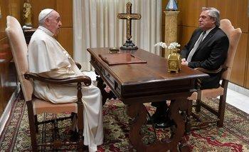 Qué dijo el Vaticano tras el encuentro de Francisco con Alberto  | Alberto con francisco