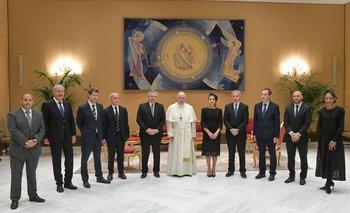 Qué dijo Alberto sobre su encuentro con el Papa Francisco | Alberto con francisco