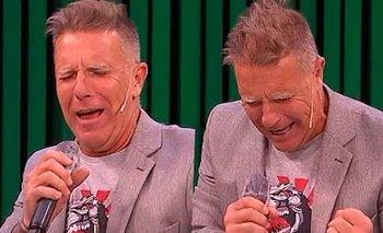 Fantino cantó un tango en memoria de su padre y se quebró en vivo | Televisión
