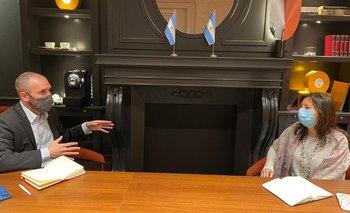 Martín Guzmán se reunió con el FMI en Roma | Deuda externa