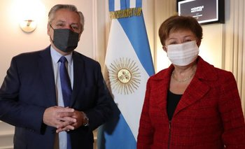 Cumbre Alberto - FMI: el presidente le planteó extender los plazos  | Deuda