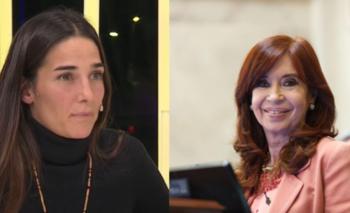 El sorpresivo elogio de Juana Viale a Cristina Kirchner en TN   Juana viale