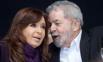 """CFK dijo que """"se usó el Poder Judicial contra los pueblos"""" de la región   Acto junto a lula"""