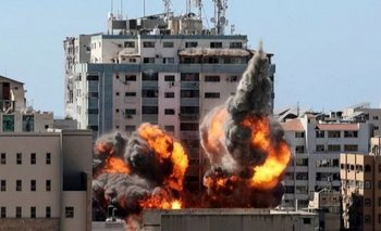 Israel bombardeó un edificio donde funcionaban dos redacciones de medios internacionales  | Israel