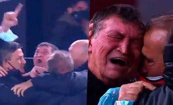El llanto de Julio César Falcioni que emocionó a todos   Independiente