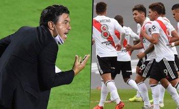 River, en problemas: el jugador de campo que atajaría en la Copa Libertadores | River plate