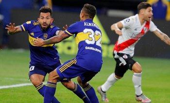Boca le ganó a River en los penales y pasó a las semis | Copa de la liga profesional