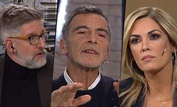 """Gustavo Garzón humilló a Viviana Canosa en vivo: """"Hablá con respeto""""   Viviana canosa"""