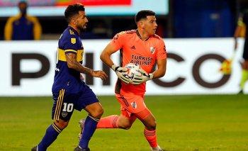 De atajar por plata a figura del Superclásico: quién es Leo Díaz | River plate