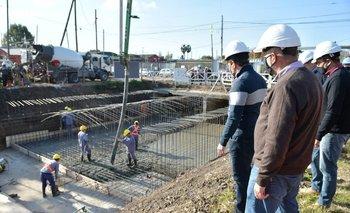 Florencio Varela: avanza el entubamiento del Arroyo Jiménez | Provincia
