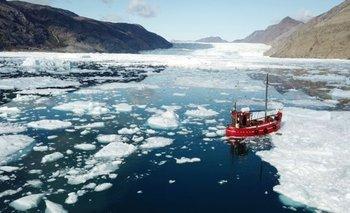 La falta de nieve está haciendo a Groenlandia más oscura y cálida   Cambio climático