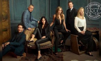 Friends: furor por las primeras imágenes del reencuentro   Series