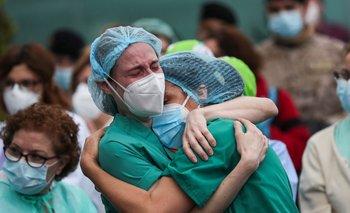 Un estudio argentino reveló que el 40% del personal de salud está estresado | Coronavirus en argentina