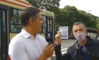 """La divertida interrupción de Gustavo Garzón: """"Gracias Alberto, gracias Cristina""""   Gustavo garzón"""