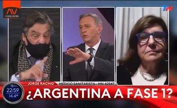 El tenso cruce entre un médico y Marcelo Bonelli en vivo | Coronavirus en argentina