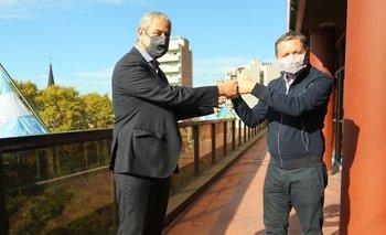 Gray y Ferraresi se reunieron por obras de viviendas en Esteban Echeverría | Provincia