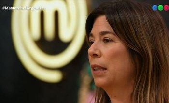 No pega una: María O'Donnell cometió un error imperdonable en Masterchef | Masterchef celebrity