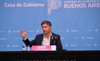 Con referencia a Macri, Kicillof apuntó al FMI por su plan de salvataje   Deuda con el fmi