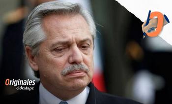 Alberto busca en el exterior la fuerza para endurecerse adentro   Panorama político