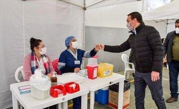 Varela: Watson celebró las 100 mil dosis aplicadas contra el COVID-19 | Vacuna del coronavirus