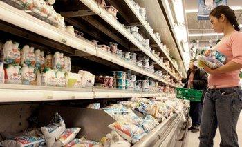 Acuerdo con empresas lácteas para aumentar productos en Precios Cuidados | Control de precios