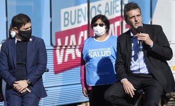 Presentaron el Tren Sanitario para fortalecer la campaña sanitaria contra el coronavirus | Coronavirus en argentina