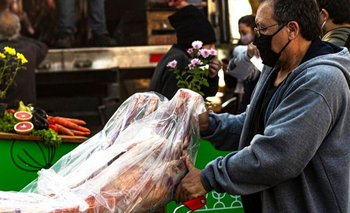 Ofrecen asado a precio popular para combatir la inflación | Precios