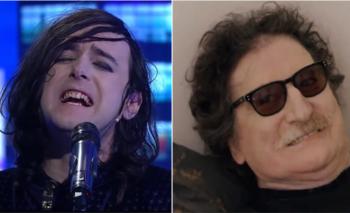 La reacción de Charly al escuchar cantar a Benito Cerati su canción | Video viral