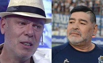 El Loco Montenegro recordó un emotivo momento con Maradona | Hernán montenegro