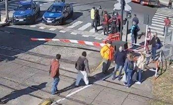 Milagro en el Sarmiento: motorman salvó a un adolescente | Video