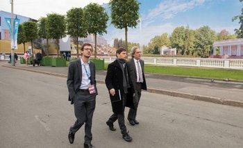 """Kicillof: """"Hay una fuerte vocación política para reafirmar el vínculo con Rusia""""   Rusia"""