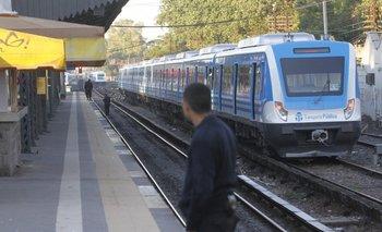 Se levantó el paro de mañana de la Línea Sarmiento   Paro