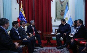 De Vido se reunió con Maduro para avanzar en cooperación de TV digital | Cancillería