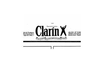 Futuro por pasado: La tapa de Clarín de los '90 que parece escrita hoy | Clarín