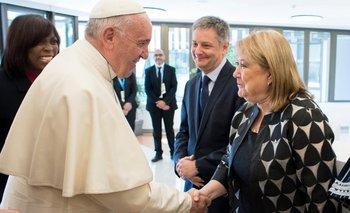 En medio de la tensión con Macri, el Papa se reunió con la Canciller argentina   Papa francisco