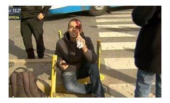 Atropellaron a Federico Delgado mientras llegaba a Comodoro Py en bicicleta   Odebrecht