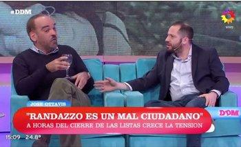 El cruce de Ottavis con Fernando Iglesias por el cierre de listas | José ottavis