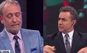 Majul se sacó chispas con Edi Zunino y la discusión lo hizo cometer un grave furcio   La salada