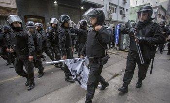 """El Gobierno porteño justificó la represión porque """"son kirchneristas""""   Ciudad"""
