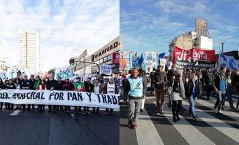 La Marcha Federal llegó a la Ciudad y exigen el tratamiento urgente de cinco leyes | Protestas sociales