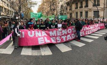 Un cartel contra Macri en la marcha #NiUnaMenos recordó la frase de Cristina | #niunamenos