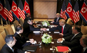 Histórico encuentro entre Donald Trump y el líder de Corea del Norte | Estados unidos