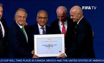 Mundial 2026: la FIFA eligió a México, EE.UU. y Canadá como las sedes   Estados unidos
